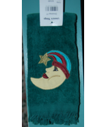 Velour Fingertip Towel with Moon and Star - fri... - $5.00