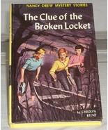 Nancy Drew #11 The Clue of the Broken Locket Vi... - $4.99