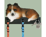 Buy Gifts and Collectibles - Sheltie Sable Dog Leash and key Holder Gift