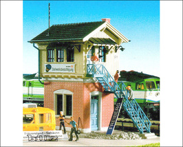 KIBRI HO 9303 - Museum Restored Signal Tower Fr... - $56.50