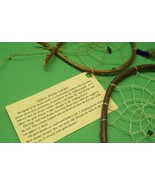 NATIVE AMERICAN MADE OJIBWA DREAM CATCHERS (2)
