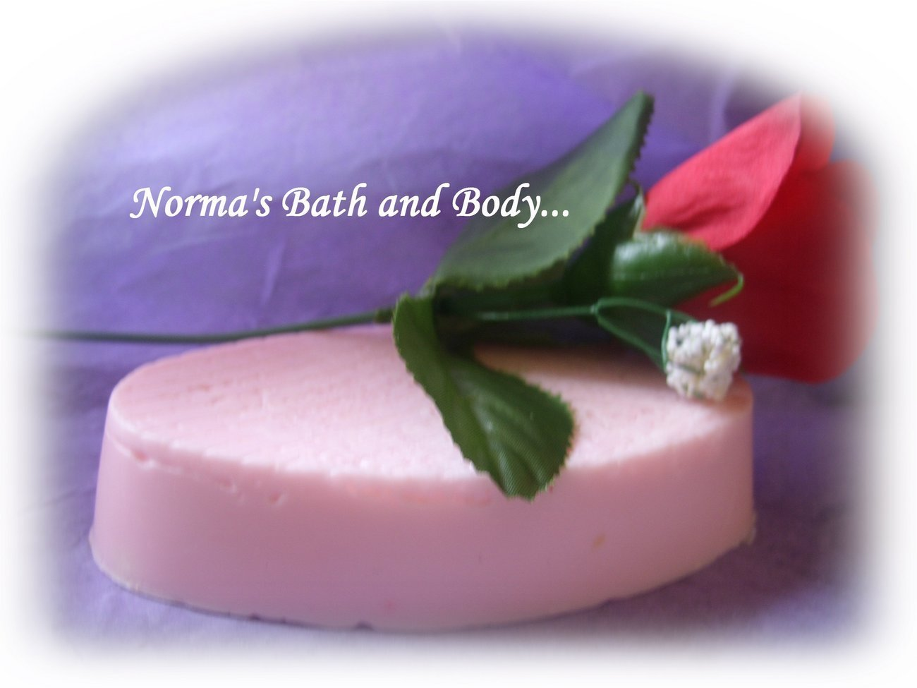 rose shea butter glycerin soap