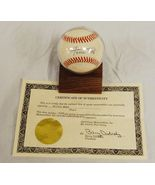 MLB Willie Mays Signature Signed Autographed Baseball W/ COA