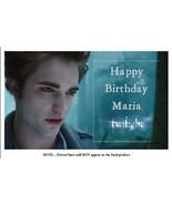 Twilight Edward Customized Cake Topper / Frosti... - $7.99