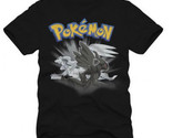 Buy Shirts - Pokemon Zekrom & Reshiram Men Anime T-shirt (Black)