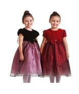 NWT Precious Velvet Top Sparkle Skirt Holiday F... - $55.27