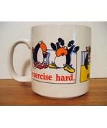 RUSS Novelty Mug: Excercise Hard, Eat Fiber, Di... - $8.99