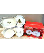HOLIDAY HOSTESS 4 PC OVENWARE SET ~ SAFE UP TO ... - $48.66