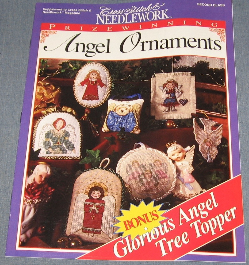 Cross Stitch & Needlework - Prize Winning Angel Ornaments