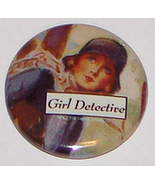 Nancy Drew Girl Detective Pin FREE w/purchase - $0.00