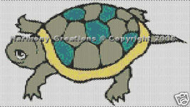 Bead Pattern Turtle Peyote Stitch Tattoo Design... - $0.00
