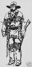 Bead Pattern Western Cowboy Hunter Loom Stitch 017 - $0.00