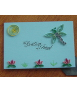 Handcrafted Paper Quill Plaque with Stand-New-t... - $12.50