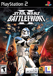 Star Wars Battlefront 2 (Playstation 2) PS2 Game