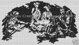 Bead Pattern Cowboy Night Time Campfire Loom St... - $0.00