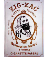 Poster Zig Zag Man Rolling Papers Poster - $11.86