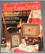 Just Cross Stitch magazine February 1990 - BABY... - $3.75