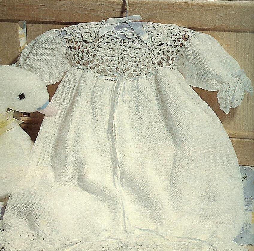 Free Vintage Crochet Patterns Christening Gowns Pakbit For