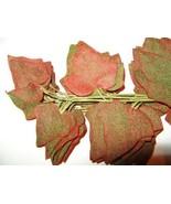 Vintage Millinery Flower Velvet Leaf Garland Re... - $9.99