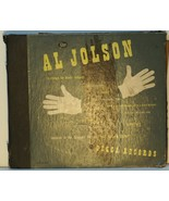 "Al Jolson ""In The Songs He Made Famous"" 1946 Decca Records"