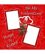 Valentine 1 ~ Digital Scrapbookng Quick Page La... - $3.00