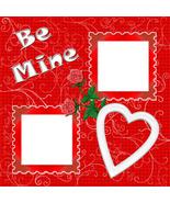 Valentine 2 ~ Digital Scrapbooking Quick Page L... - $3.00