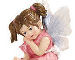 Image 1 of Cupcake Fairy Collectible Trinket Box  Pink Holding face