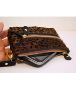 New SOFT Haircalf LEATHER Wristlet / Wallet / C... - $17.99