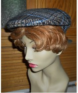 Mens newsboy cabbie golf apple cap 30s style pl... - $10.00