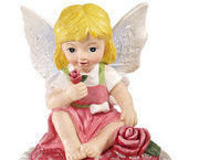 Image 1 of Cupcake Fairy Collectible Trinket Box  Red Shirt