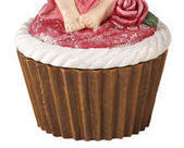 Image 3 of Cupcake Fairy Collectible Trinket Box  Red Shirt