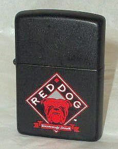 Red Dog Beer Zippo Cigarette Lighter