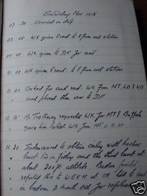 '30s CANADA WEATHER LOG JOURNAL ARCHIVE LETTERS TORONTO
