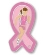 Breast Cancer Awareness Pink Ribbon Marathon Tr... - $10.97