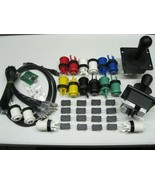 Arcade MAME 2 Player USB Kit w/ 2 Joysticks 4 &... - $75.00