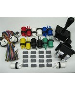 NEW Arcade JAMMA 60 in 1 Kit w/ 2 Joysticks 4 &... - $55.00