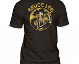 Buy Shirts - Bruce Lee Circle Dragon Men's Fitted Jersey T-shirt