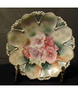 Antique Decorator Plate R S Prussia Roses White... - $65.00