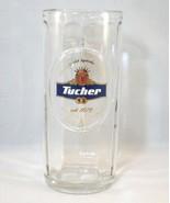 TUCHER WEIZEN GLASS BEER MUG - RARE IMPORT, GRE... - $19.99