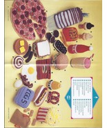 RARE~Crochet Toy Food Pattern~Annie's Attic 198... - £37.41 GBP