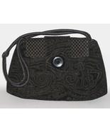 Lucca Black Opulent Purse Handmade Shoulder Bag... - $235.00
