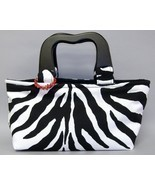 Meredith Zebra Stripe Purse Chic Handbag Animal... - $77.00