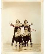 MGM Roller SKATING Chorines 1934 Movie Ball ORG... - $24.99