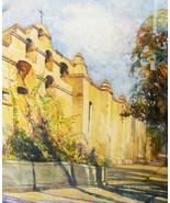 Impressionist Watercolor California Landscape S... - $500.00
