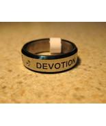 RING MEN WOMEN UNISEX DEVOTION STAINLESS STEEL ... - $8.99