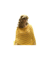 Golden Yellow Argentinean Poncho Scarf - $24.99