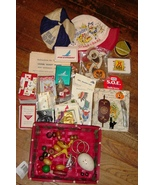 Junk Drawer Lot Hats Christmas Halloween Cards ... - $12.99
