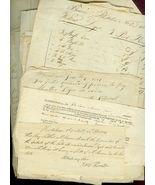 LOT (76) Documents 1796-1840 CALAIS, MAINE Jame... - $195.00
