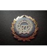 12k Solid Gold Vintage Wedgwood Brooch Pendant ... - $149.99