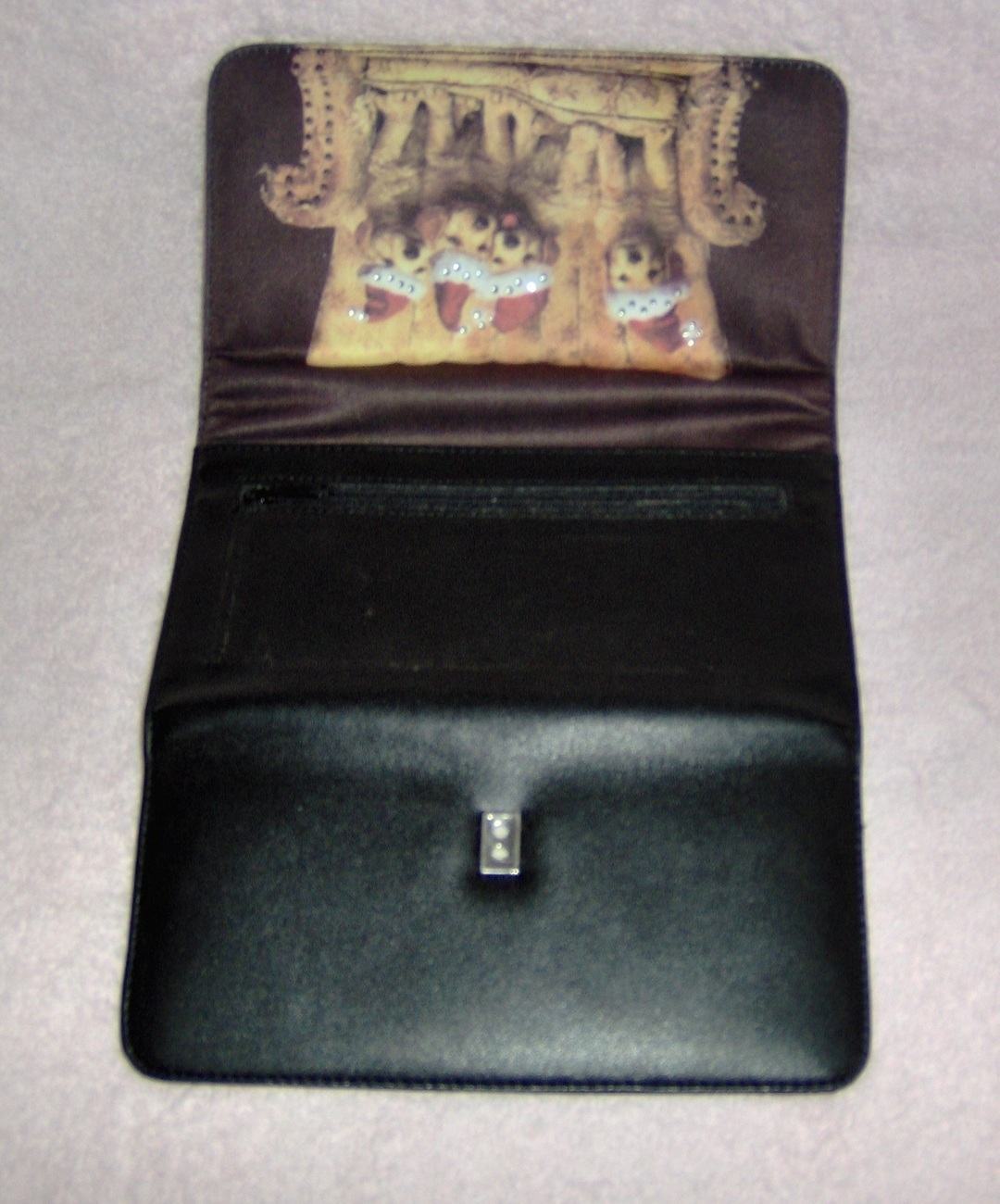 Golden_retriever_billfold_clutch_purse_santa_hats_3